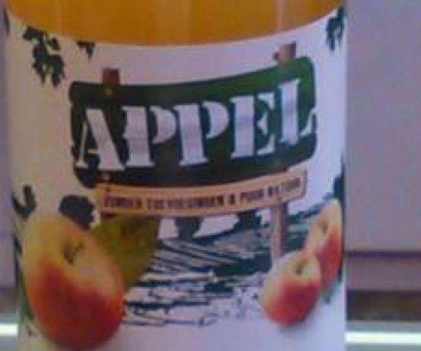 Afbeelding van Betuws appelsap, per fles